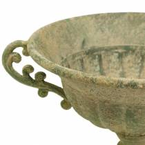 Koppskål antikgrön Ø26cm H20,5cm