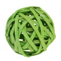 Rottingboll vårgrön Ø4cm 12st