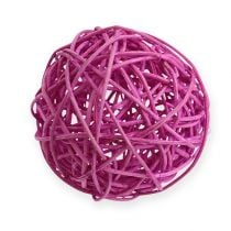 Rottingboll 10 cm lila 10st