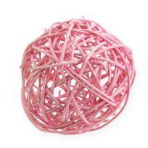 Rottingboll Ø10cm rosa 10st
