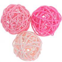 Rotting ball pink pink Ø5cm 18st