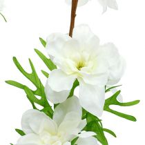 Delphinium konstgjord vit 95cm