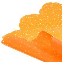 Rondella prickar orange Ø68cm 50st