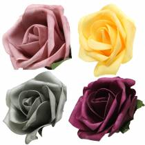 Foam Rose Ø15cm olika färger 4st