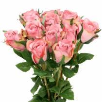 Rose gamla ros 42cm 12st