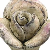 Betong rosa, violett Ø7,7 H5,5cm 3st