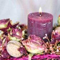 Rosor antikrosa, sidenblommor, konstgjorda blommor L23cm 8st