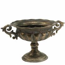 Kopp antik guld Ø28cm H23cm