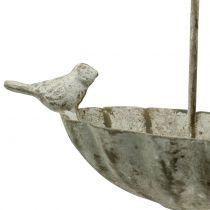 Paraply för fågelbad för att hänga antik 20 cm