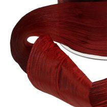 "Rosettband Bordeaux ""Crash"" 50mm 20m"
