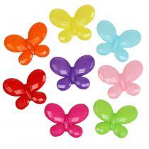 Butterfly 3cm x 2.3cm sorterat för spridning 200g