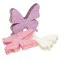 Spridning av fjärilar Mix 2cm 144st