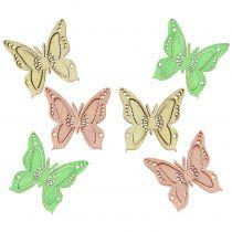Spridda fjärilar 2 cm 144st