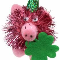 Dekorationsplugg lycklig gris 8st