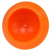 Flytande ljus i orange Ø16cm