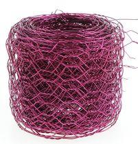 Sexkantig flätning rosa 50mm 5m