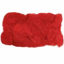 Sisal röd 500g naturlig fiber