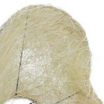 Sisal manschettblekt hjärta 27cm 1p