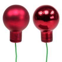 Spegelbär röd mix Ø25mm 140p