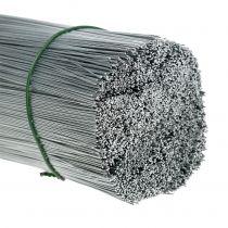 Stickkabel, silvertråd galvaniserad Ø0,4mm L180mm 1kg