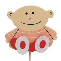 Babyplugg 5cm L25cm Pink 20st