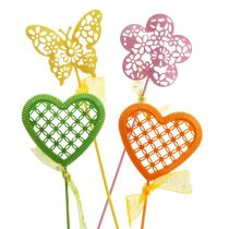 Blommapluggsats blandade färger 5,5 cm - 6 cm 12p