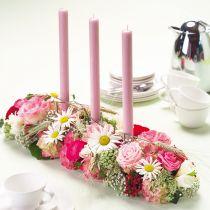 Blomskumdekor Super med självhäftande remsor 2st
