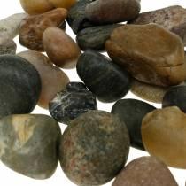 Flodstenar naturligt ljus och mörkt 2-3 cm 1 kg