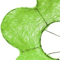 Sisal bukett manschettgrön Ø15cm 10st