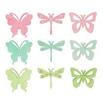 Give-Aways Butterflies & Dragonflies 4cm 72st