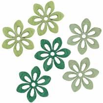 Strö dekorationsblomma grön, ljusgrön, mintblommor för att strö 144p