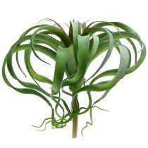 Tillandsie konstgjord för att sticka grön 30 cm