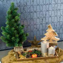 Julgran i en jutesäck 47cm