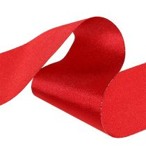 Bordsband röd 10 cm 15m