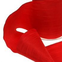 Bordband röd krasch 100mm 15m