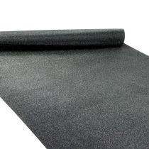 Bordsdekorationsbordslöpare svart 50cm 3m