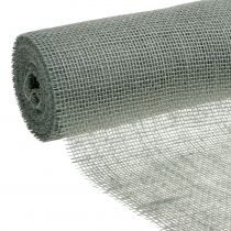 Bordslöpare jute tejp grå 30 cm 10m