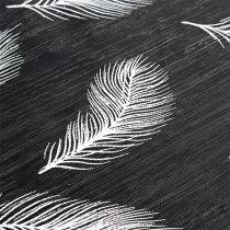 Bordslöpare med fjädermönster 30cm x 500cm