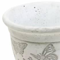 Plantera pottenplanterkopp med fjärilar Ø12.5cm H13cm 2st