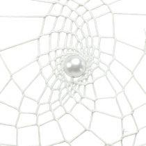 Drömfångare hjärta vit 55cm 2st