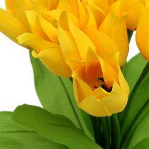 Tulpanbusk gul H30cm