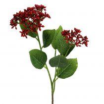 Berry gren röda viburnum bär 54cm 4st