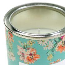 Doftljus vanilj i blomma låda Ø6,5cm