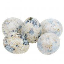 Vaktelägg vita marmorerade 3,5cm - 4cm 60st