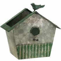 Fågelhus av metall för plantering av H25,5cm