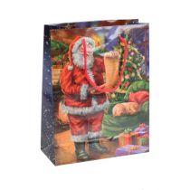 Pappersväska Santa 11cm x 13.5cm