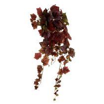 Vinrankan hängar grön, mörkröd 100 cm