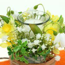 Ljushållare för te-tät Ø6cm H10cm klart glas