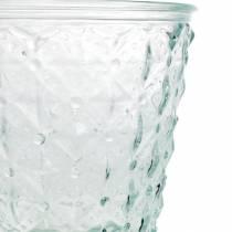 Lyktglas med basklart Ø13,5cm H18cm bordsdekoration utomhus