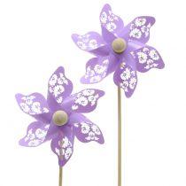 Väderkvarn Mini Purple Ø9cm 12st